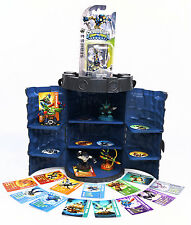 Skylanders Swap Force Game, 5 Figures & Rare Castle Tower Hard Storage / Display