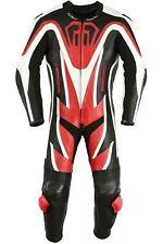 Germanwear ™ onesie motocicleta combi cuero combinado de cuero de vaca Echt Leder combi rojo
