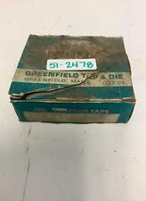 Greenfield Tap Amp Die 10 Pieces Type 5314 High Speed 38 16