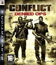 PS3 - Conflict Denied Ops **New & Sealed** Official UK Stock