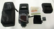 SONY Blitz flash A E Alpha RX HVL-F60M Topmodell new condition Neuzustand