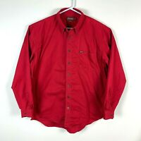Driza-Bone Red Long Sleeve Shirt Size Men's XL
