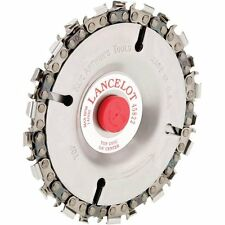 LANCELOT SAW CHAIN DISC EXCELLENT FOR RAPID WOOD REMOVAL CUTTING CARVING #45822