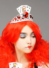 Queen of Hearts Style Fancy Dress Playing Card Tiara