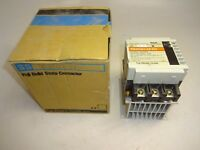 FUJI ELECTRIC SS303H-3Z-D3 SOLID STATE CONTACTOR WITH SX1-E12 HEAT SINK COOLER