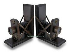 Replica Christmas gift Camera old model Art Deco Bookends Library/ Home Decor