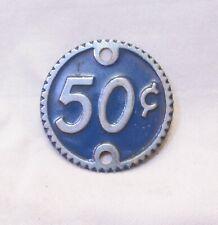 More details for watling rol-a-top original cast denomination badge 50c