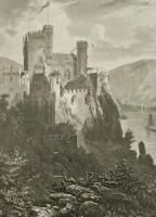 RIEGEL (19. Jh.), Burg Rheinstein, Rheinland-Pfalz, Stahlst.
