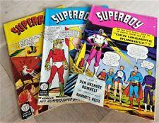 Superboy comics 1968  Danish variants