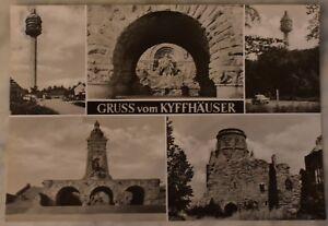 AK Gruß vom  Kyffhäuser große Karte ca 210mm x 145mm