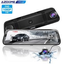 """AZDOME Rückspiegel Dashcam Dual Kamera 10"""" Touchscreen Dashcam Auto Recorder"""