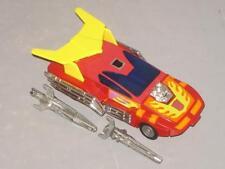 "G1 TRANSFORMER AUTOBOT HOT ROD COMPLETE # 4 ""PLASTIC FEET ""LOTS OF PICS"" NICE!"