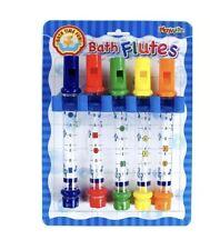 Flautas De Baño Niños Niños Juguetes de agua tiempo Musical Diversión Bañera TUNES hojas de la canción