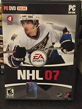 *one owner!* NHL 07 (near mint) PC DVD online 2006 EA Sports w/ mint manual