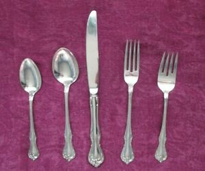 Reed & Barton Rose Cascade Sterling Silver 5 Piece Place Setting