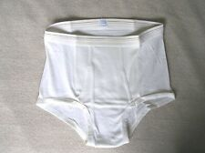 New listing Vintage Grants White Briefs Size 38-40 Quantity 1 Nos 50% Kodel Polyester