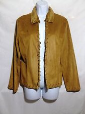 NIKI BIKI Jacket Size MEDIUM Brown Suede Pre-owned