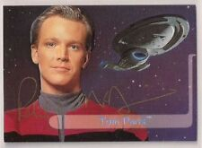 Star Trek Auto Signed Voyager Season 2 E5 Tom Paris Robert Duncan McNeill v21