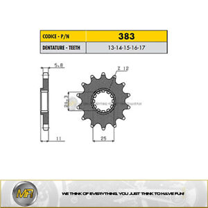 HUSQVARNA WR 300 2009 2010 2011 2012 FRONT SPROCKET SUNSTAR 520 WITH 14 TEETH