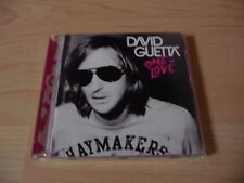CD DAVID GUETTA-ONE LOVE - 2010 Incl. When love takes over