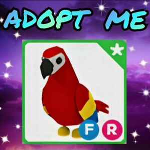 🦜 PARROT (FR)👌 With Fly Ride. Adopt Me, Roblox. Legendary jungle pet. Game