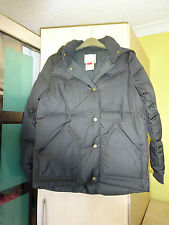 ladies levi puffer style jacket size small colour brown 042015