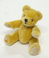 "Vtg MERRYTHOUGHT TEDDY BEAR 6"" Jointed Mohair Made in England"