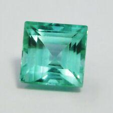 Natural Sapphire Loose Gemstone 4.60 Ct Emerald Shape Ceylon Certified Gemstone