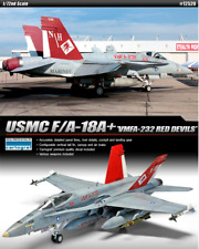 ACADEMY #12520 1/72 Plastic Model Kit USMC F/A-18A+ VMFA-232 RED DEVILS