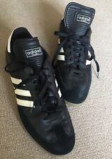 Men's Vintage Old School Adidas Samba Black Trainers 12.5 UK!