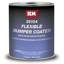 SEM Paints 39104 Flexible BUMPER COATER, 1-Quart Can
