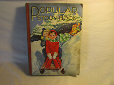 COLLECTABLE CHILDREN'S ' POPULAR STORY BOOK' 1936, THE AVENUE PRESS -COLOUR