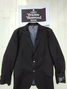 """VIVIENNE WESTWOOD """"Man"""" Jacket 44 Chest - Really SUPERB with """"Orb"""" Buttons"""