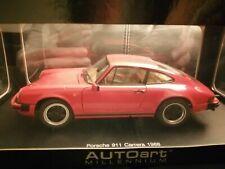 1:18 Autoart 78011 Porsche 911 Carrera 1998 Red