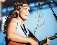 BRANDI CARLILE HAND SIGNED 8x10 PHOTO FOLK ROCK SINGER-SONGWRITER RARE + PROOF!!