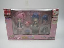 Shugo Chara! Amu & Ikuto Circle K Sunkus Special LTD Decorachu Dress Figure Set