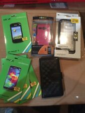 Cp1 Lot Of Various Cell Phone Cases And Screen Protectors