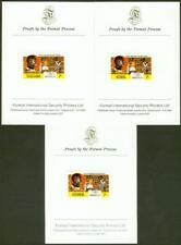Kenya/Uganda/Tanzania 1976 Olympics 2s Boxing PROOFS