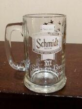 GLASS SCHMIDT BEER COLLECTOR SERIES VII BEER MUG WITH GOOSE