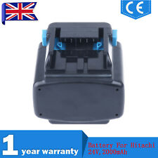 24V 2.0Ah Ni-Cd Drill Battery For Hitachi 319807,EB2420,EB2430HA,C 7D,DV 24DV,UK