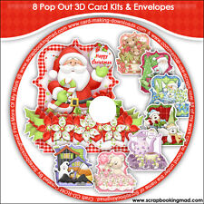 DISK 5 - 8 Pop Out 3D Card Kits & Envelopes - CD-ROM