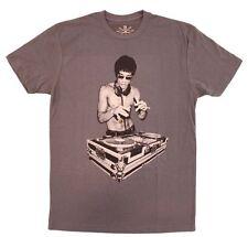 Bruce Lee DJ Avengers Heavy Metal Gray T shirt Gungfu Scratch S, M, L, XL, XXL