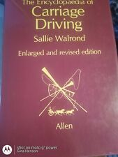 """Encyclopedia Of Carriage Driving by Walron. """"Usa seller"""" Free Shipping"""