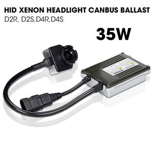 1X 35W HID Xenon Kits AC Slim Ballast D2S D2R CANBUS Headlight Replacement Lamp