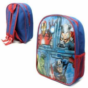 Boys Girls Kids Backpack Junior Toddlers Character Rucksack School Lunch Bag