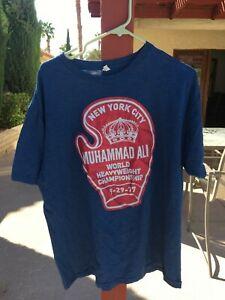 vintage fight shirt, Muhammad Ali vs Ernie Shavers 1977.