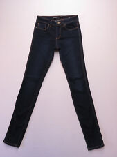 LADIES LEE RIDERS MID RISE SUPER SKINNY STRETCH BLUE DENIM JEANS SZE 9 AS NEW