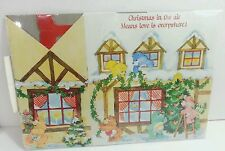 "American Greetings Care Bear Christmas Paper Gift Box 9"" x 5"" x 8-3/4"""