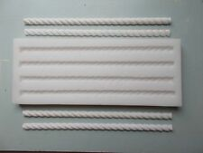BARLEY TWISTS SILICONE RUBBER MOULD PICTURE OR MIRROR FRAME FURNITURE MOULDINGS