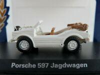 BoS 87596 Porsche 597 Jagdwagen (1953-1958) in weiß 1:87/H0 NEU/OVP